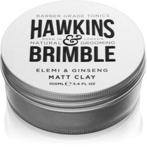 Hawkins & Brimble Natural Grooming Elemi & Ginseng matująca pomada do włosów