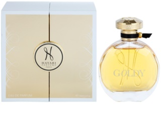 Hayari Parfums Goldy eau de parfum pour femme 100 ml