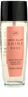 Heidi Klum Shine Rose deodorant s rozprašovačem pro ženy 75 ml