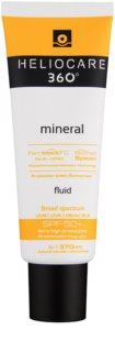 Heliocare 360° protector solar mineral fluido en crema SPF 50+