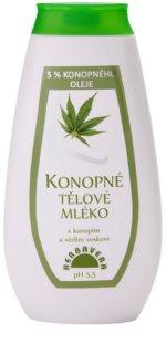 Herbavera Body tělové mléko s konopným olejem