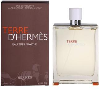 Hermès Terre D'Hermes Eau Tres Fraiche eau de toilette férfiaknak 125 ml