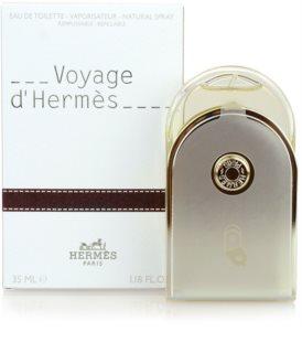 Hermès Voyage d'Hermès eau de toilette mixte 35 ml rechargeable