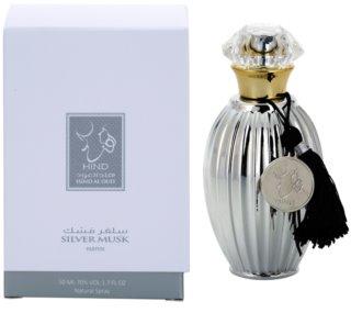Hind Al Oud Silver Musk Limited Edition eau de parfum unisex 50 ml