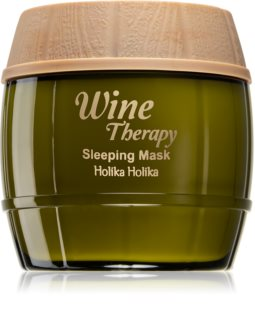 Holika Holika Wine Therapy Overnight Moisturizing Mask