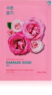 Holika Holika Pure Essence Mask Sheet Damask Rose plátýnková maska s hydratačním a revitalizačním účinkem