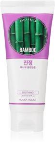 Holika Holika Daily Fresh Bamboo matująca pianka do mycia twarzy nawilżający