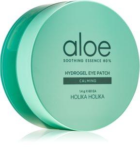 Holika Holika Aloe Soothing Essence  máscara hidrogel ao redor dos olhos para apaziguar a pele
