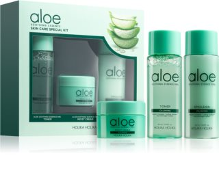 Holika Holika Aloe Soothing Essence  Cosmetic Set II. for Women