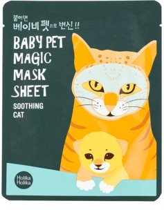 Holika Holika Magic Baby Pet maska odświeżająca i kojąca do twarzy