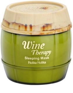 Holika Holika Wine Therapy nočná hydratačná maska