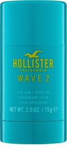 Hollister Wave 2 Deodorant Stick for Men 75 g