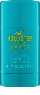 Hollister Wave 2 Deodorant Stick voor Mannen 75 gr