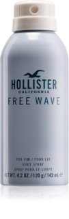 Hollister Free Wave spray corporal para hombre 143 ml