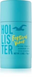 Hollister Festival Vibes Deodorant Stick for Men 75 g