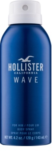 Hollister Wave spray corporal para hombre 143 ml