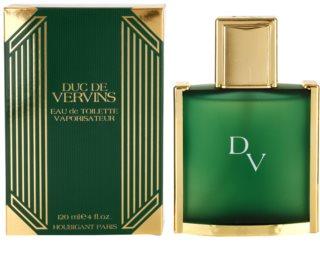 Houbigant Duc De Vervins Eau de Toilette para homens 120 ml
