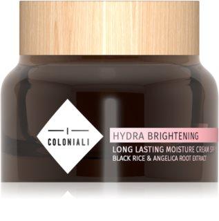 I Coloniali Hydra Brightening crema de día hidratación intensa SPF 15