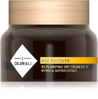 I Coloniali Age Recover crema antiarrugas con efecto relleno de día SPF 15
