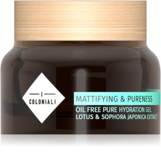 I Coloniali Mattifying & Pureness Mattifying Gel with Moisturising Effect for Normal and Combination Skin