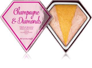 I Heart Revolution Diamonds enlumineur cuit