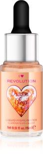 I Heart Revolution Dragons Glow υγρό λαμπρυντικό