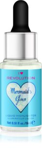 I Heart Revolution Mermaids Glow υγρό λαμπρυντικό