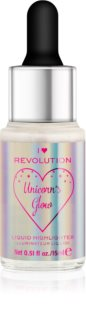 I Heart Revolution Unicorns Glow Vloeibare Verheldering