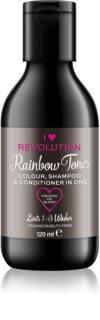 I Heart Revolution Rainbow Shots σαμπουάν έκπλυσης για τα μαλλιά