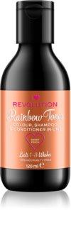 I Heart Revolution Rainbow Shots festékeltávolító sampon hajra
