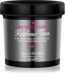 I Heart Revolution Rainbow Tones Auswaschbare Farbe für das Haar