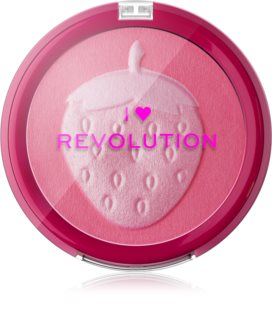 I Heart Revolution Fruity Blusher Strawberry kompakt arcpirosító