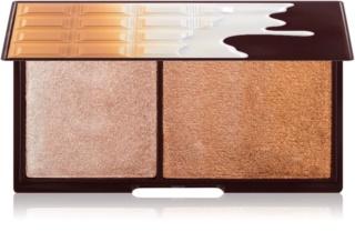 I Heart Revolution Mini Chocolate Bronze And Shimmer Aufhellende und Bronzing-Palette