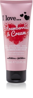 I love... Strawberries & Cream Handcreme