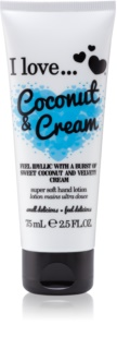 I love... Coconut & Cream Hand Cream