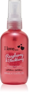 I love... Raspberry & Blackberry erfrischendes Bodyspray