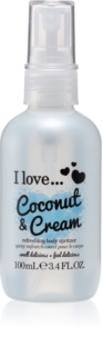 I love... Coconut & Cream spray rafraîchissant corps
