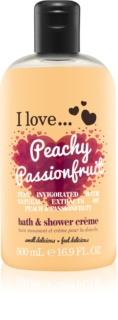 I love... Peachy Passionfruit Shower and Bath Cream