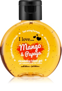 I love... Mango & Papaya żel do mycia rąk