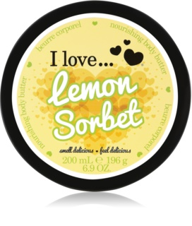 I love... Lemon Sorbet beurre corporel