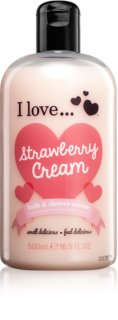 I love... Strawberry Cream крем за душ и вана