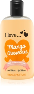 I love... Mango Cheesecake krema za prhanje in kopanje