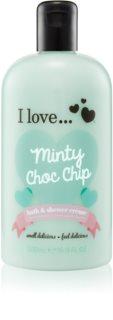 I love... Minty Choc Chip krema za tuširanje i kupku