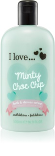 I love... Minty Choc Chip crema de baño y ducha
