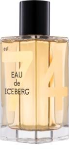 Iceberg Eau de Iceberg 74 Oud Eau de Toilette para homens 100 ml