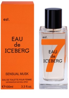 Iceberg Eau de Iceberg Sensual Musk Eau de Toilette para mulheres 100 ml