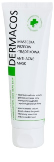 Ideepharm Dermacos Combination Oily Acne Skin очищаюча маска для жирної шкіри зі схильністю до акне