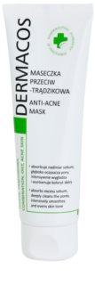 Ideepharm Dermacos Combination Oily Acne Skin čistiaca maska pre mastnú pleť so sklonom k akné