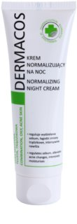 Ideepharm Dermacos Combination Oily Acne Skin krem na noc do regulacji sebum