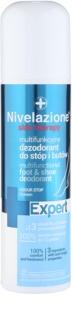 Ideepharm Nivelazione Expert deodorante spray per piedi e scarpe